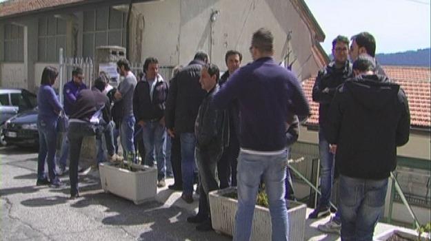 protesta, s.giovanni in fiore, Calabria, Archivio