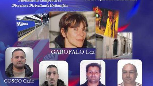 lea garofalo, Calabria, Archivio, Cronaca