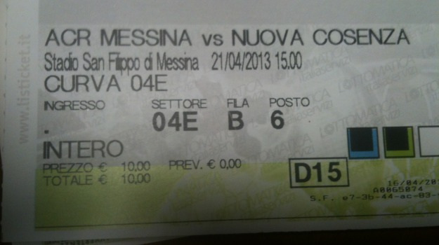messina-cosenza, Cosenza, Messina, Sport