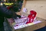 Maxi sequestro di sigarette