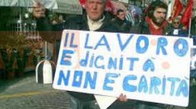 emergenza, lavoro, sud, Sicilia, Archivio