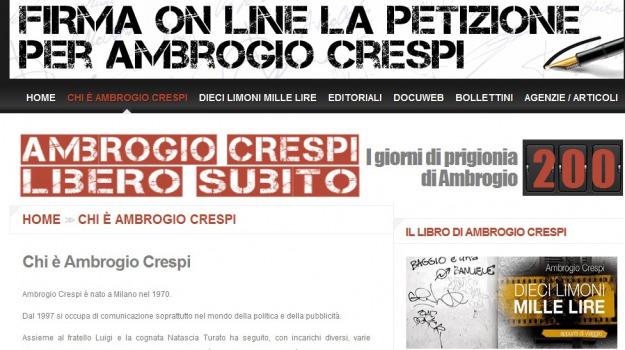 ambrogio crespi, Calabria, Archivio
