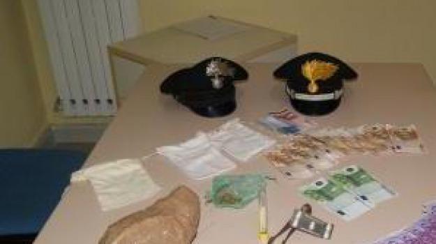 arresto, carabinieri, droga, san cosmo albanese, Calabria, Archivio