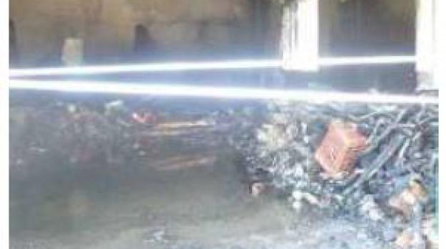 incendio, Reggio, Calabria, Archivio