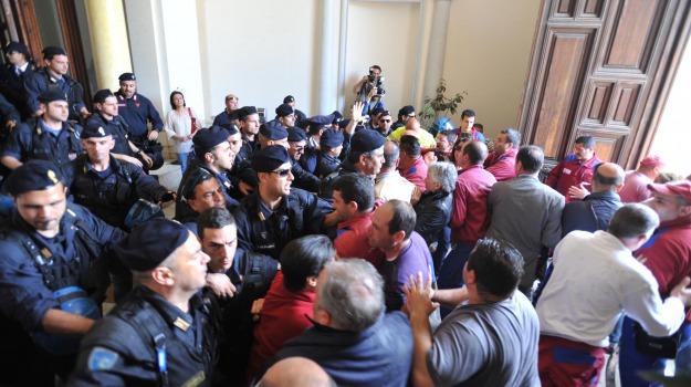 protesta multiservizi, Reggio, Calabria, Archivio