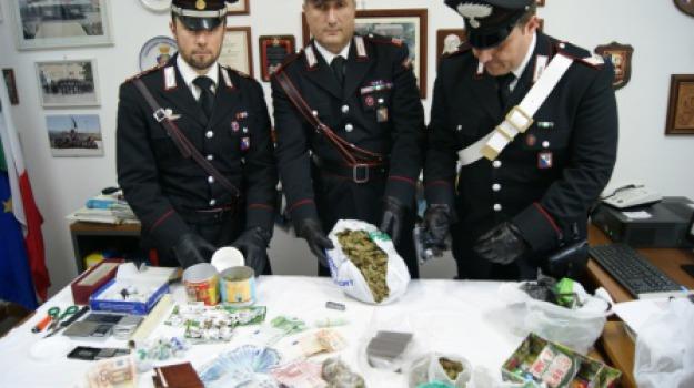 arresti, carabinieri, droga, san lorenzo del vallo, spezzano albanese, Calabria, Archivio