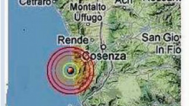 terremoto, Cosenza, Calabria, Archivio