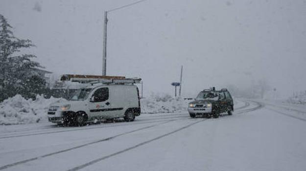 neve, sicilia, statale, Sicilia, Archivio