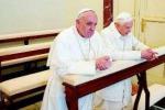 Secondo incontro tra papi Bergoglio e Ratzinger insieme