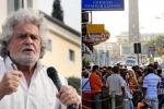 """Grillo contro ius soli """"Fare un referendum"""""""