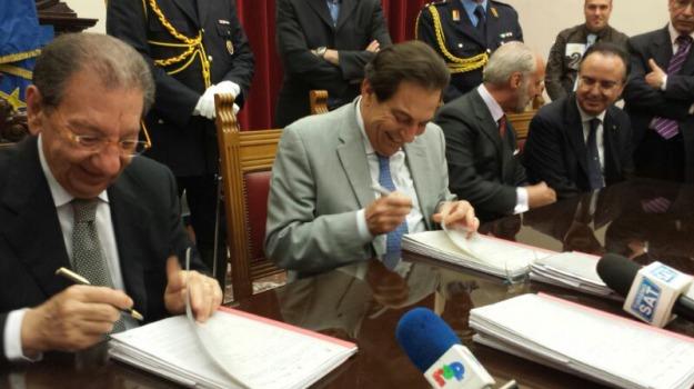 firma accordo via del mare, Messina, Archivio