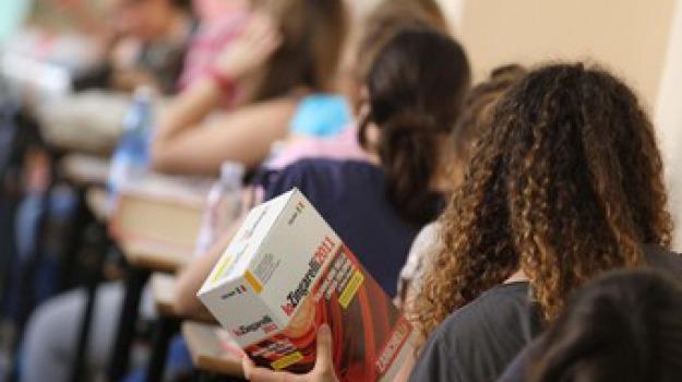 esami maturità, seconda prova, Sicilia, Calabria, Archivio