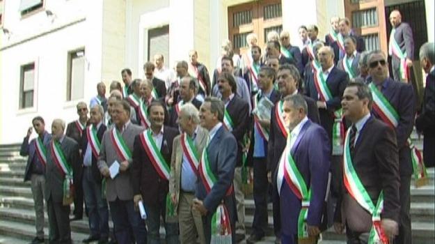 cosenza, prefettura, protesta, sindaci, tares, Cosenza, Calabria, Archivio