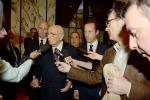 Napolitano difende Letta e Saccomanni