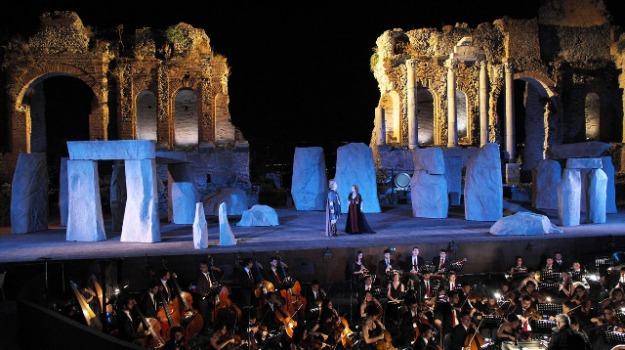 taormina teatro antico, Messina, Archivio