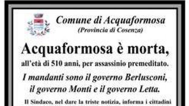 cosenza, incontro, prefetto, protesta sindaci, Calabria, Archivio