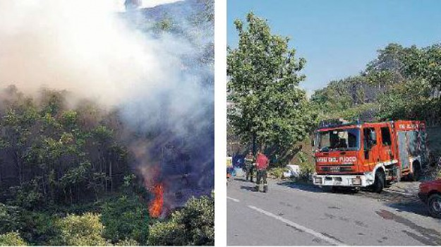 incendi, Messina, Archivio