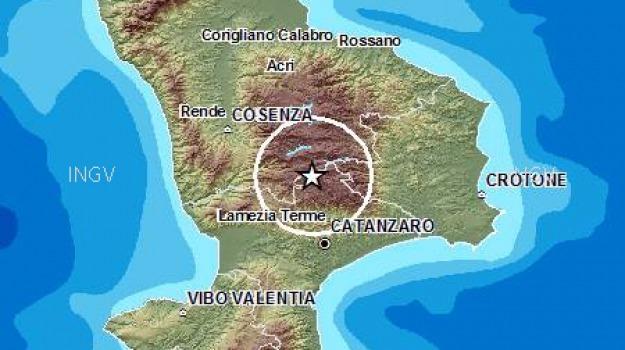 terremoto in sila, Catanzaro, Calabria, Archivio