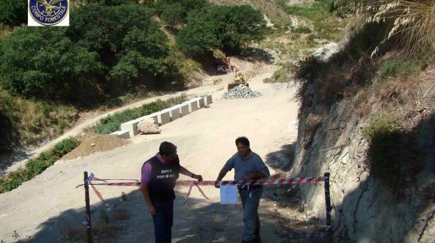 corpo forestale, torrente trapani, Messina, Archivio