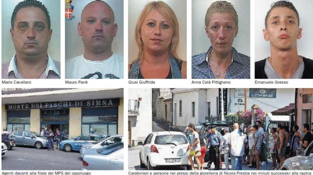 banda rapinatori vibo, Catanzaro, Calabria, Archivio