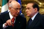 Napolitano, no a campagna voto Berlusconi ricusa Giunta