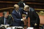 """""""No"""" del Senato alla sfiducia ad Alfano"""