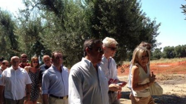 ministro bray, museo, parco archeologico, sibari, visita, Calabria, Archivio