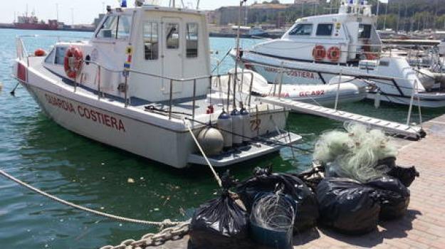 area protetta, reti da pesca, Catanzaro, Calabria, Archivio