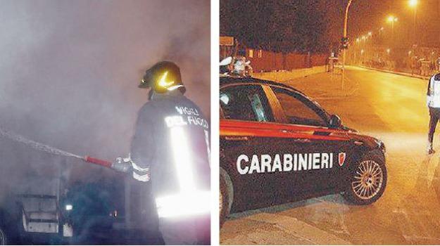 incendio ristorante, montalto uffugo, Calabria, Archivio