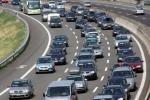Traffico intenso su strade e autostrade