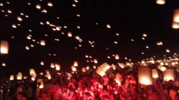 diamante, ernesto e manuela, festival sky lanterns, sindaco magorno, Calabria, Archivio