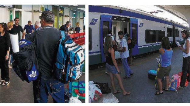 ritardo treni, Cosenza, Calabria, Archivio