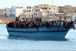 596 migranti soccorsi dalla Marina Militare