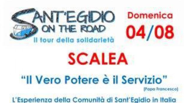 comunità, paola, sant'egidio, sant'egidio on the road, scalea, tour, Calabria, Archivio