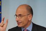 Letta: basta polemiche, serve stabilita'