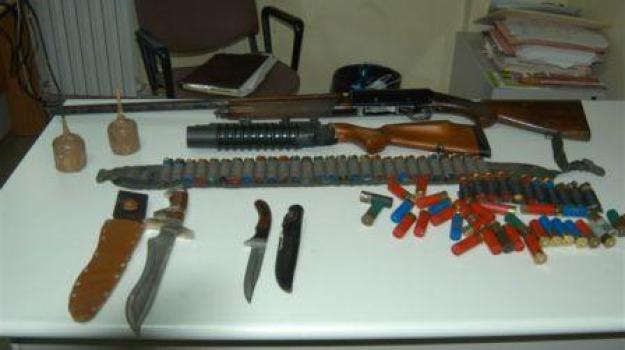 armi, polizia, rossano, Calabria, Archivio
