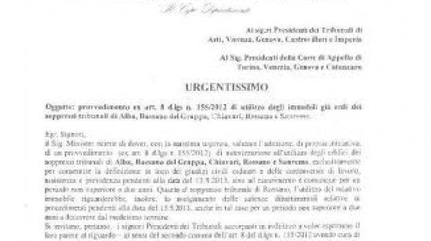 manifestazione, nota biritteri, tribunale castrovillari, tribunale rossano, Calabria, Archivio