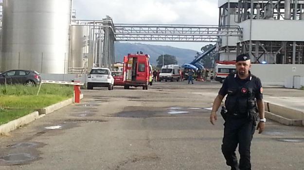 esplosione silos, Catanzaro, Calabria, Archivio