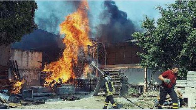 incendio contesse, Messina, Archivio