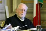 L'ex rettore dell'Università di Messina, Gaetano Silvestri