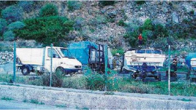 bagnara, camion incendiati, Reggio, Calabria, Archivio