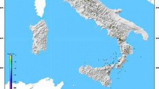 scosse, terremoto, Calabria, Archivio
