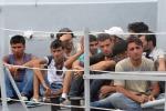 Sbarco di migranti nel Salento