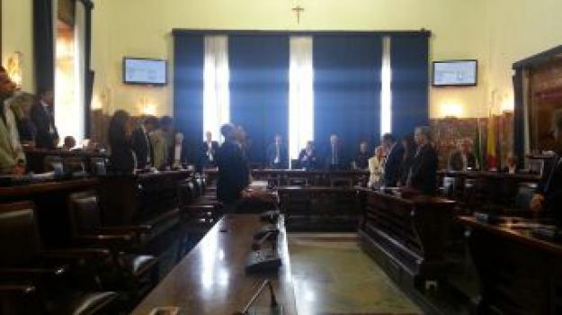 consiglio comunale raccoglimento, giampilieri, Messina, Archivio