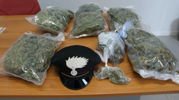 arresto, carabinieri, droga, montalto uffugo, Calabria, Archivio