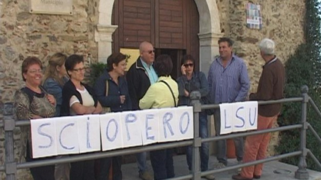 lsu-lpu, sciopero, zumpano, Sicilia, Archivio