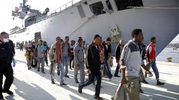 messina, migranti, Messina, Archivio