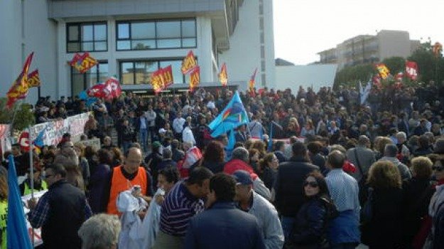 protesta lsu, Reggio, Calabria, Archivio