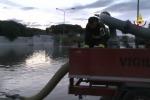 Corigliano e Sibari idrovore al lavoro