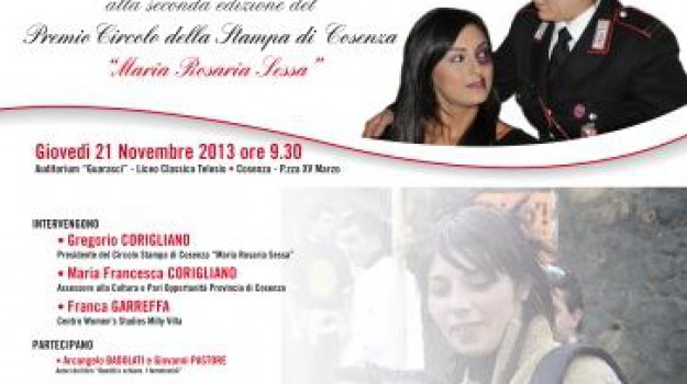 cosenza, giornalismo, maria rosaria sessa, premio, Cosenza, Archivio